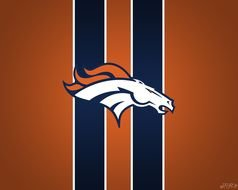 Denver Broncos hors Logo drawing