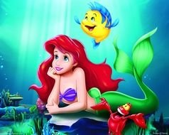 little Disney mermaid