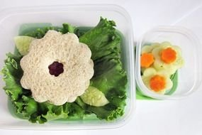 vegetarian Lunch in box