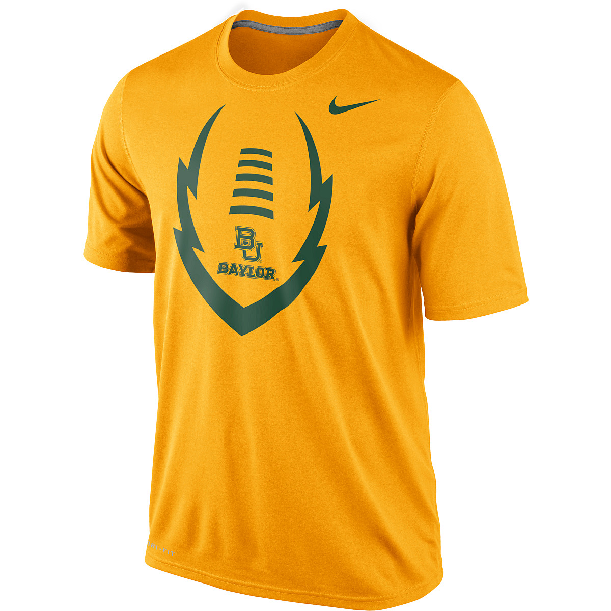 03aaee832d9a Mens Baylor Bears Dri FIT Legend Football Icon Short Sleeve T Shirt ...