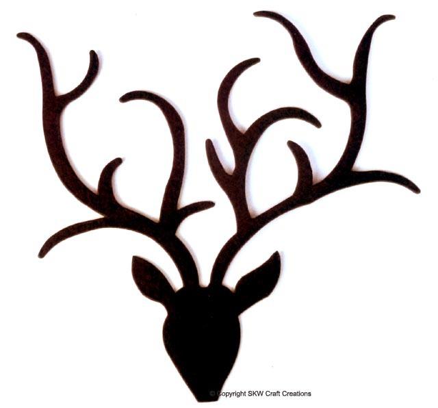 image regarding Printable Reindeer Antler identify Printable Reindeer Antlers no cost impression