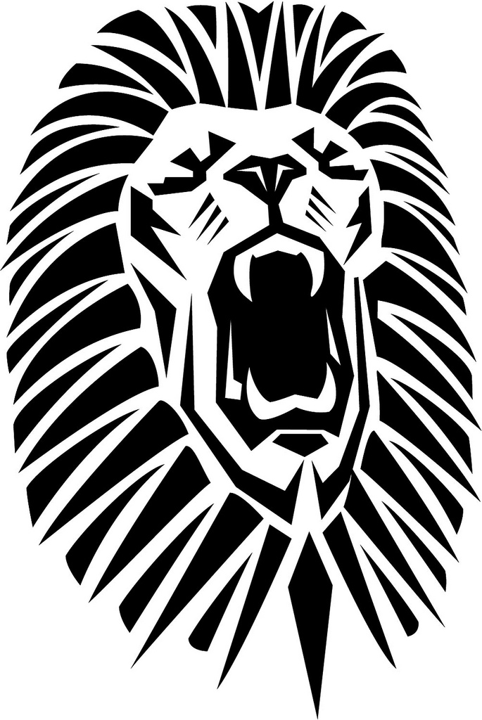 Outline Pic Of Lion / Check out /r/pics/wiki/v2/resources/takedown for help with taking down posts due to copyright or personal identifiable information reasons.