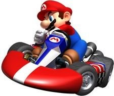 Super Mario Kart Wii drawing