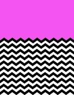 Chevron pink Pattern drawing