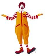 Ronald McDonald, clown character, primary mascot