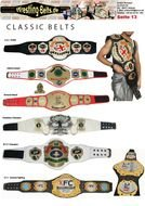 clipart of the WWE Wrestling Belts