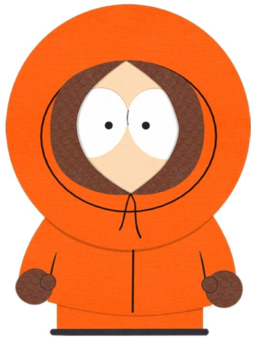 south park character as a graphic illustration