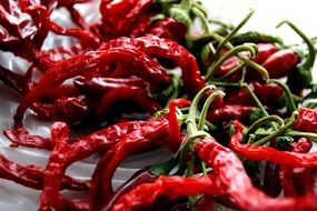 dried hot pepper