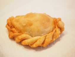 deep fried pastry bag