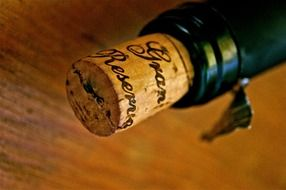 cork from high-end wine