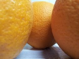 orange citrus fruits