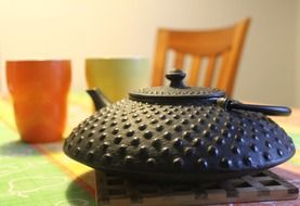 tea iron pot