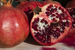 pomegranate is a vitamin fruit