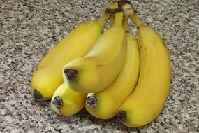 bananas fruit food yellow healthy