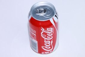 cold coca cola can