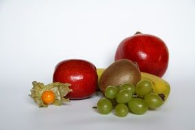 composition of ripe fruit