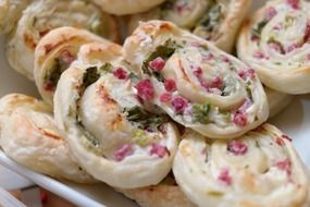 puff pastry appetizers food