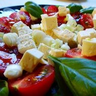 greek salad cheese feta onion tomatoes frisch