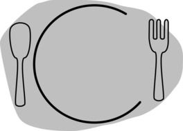 plate for dishes eating
