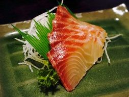 sashimi fish food seafood japanese