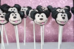 candy mickey mouse on a stick
