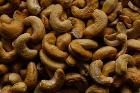 roasted cashew nuts, snack