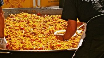 paella-rice-food-party-spain