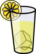 graphic image of lemonade in a glass