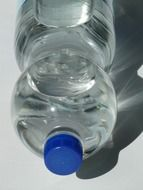 plastic mineral water bottle