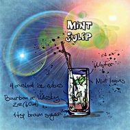mint julep alcoholic drink