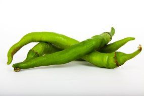 green healthy pepper