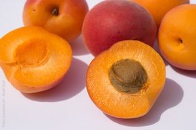 fruits apricots fruit still life