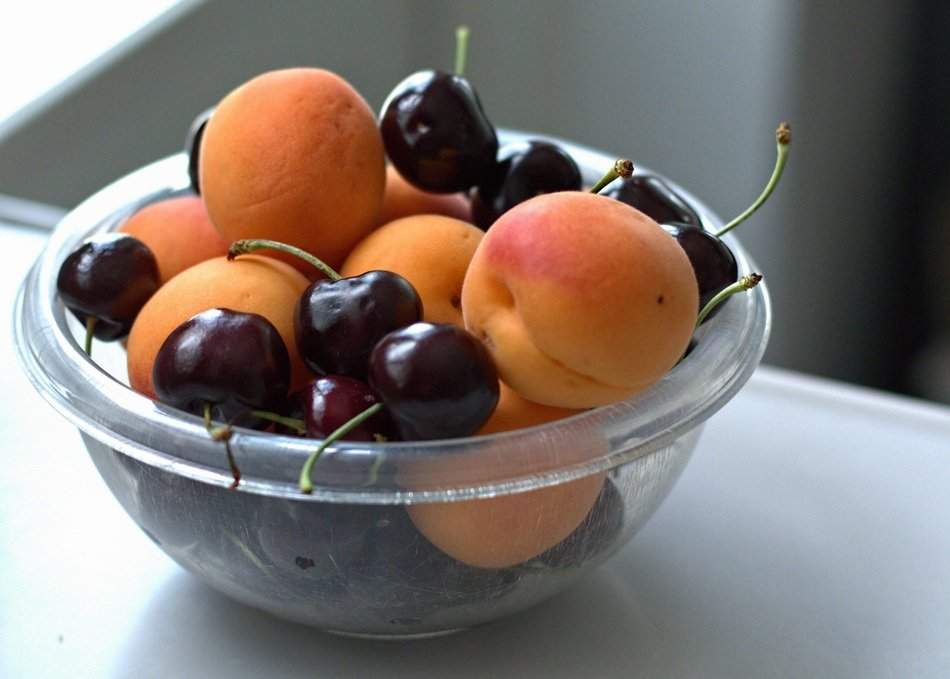 summer fruits in a bowl
