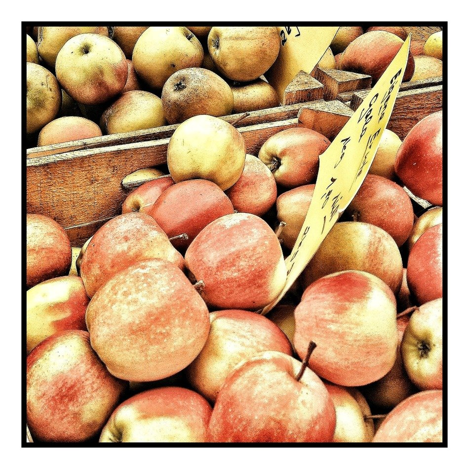 many apples on the market