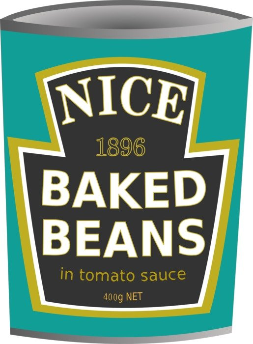 Nice baked beans