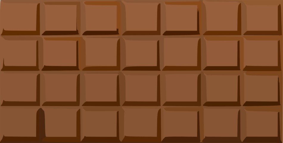 Bar of the chocolate clipart