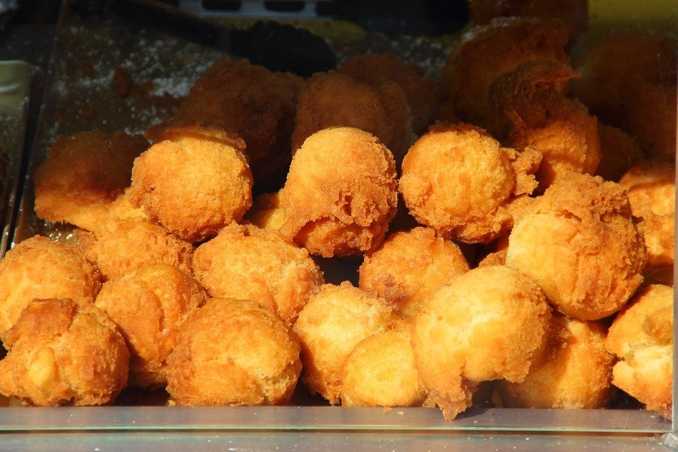 street trade fried croquettes