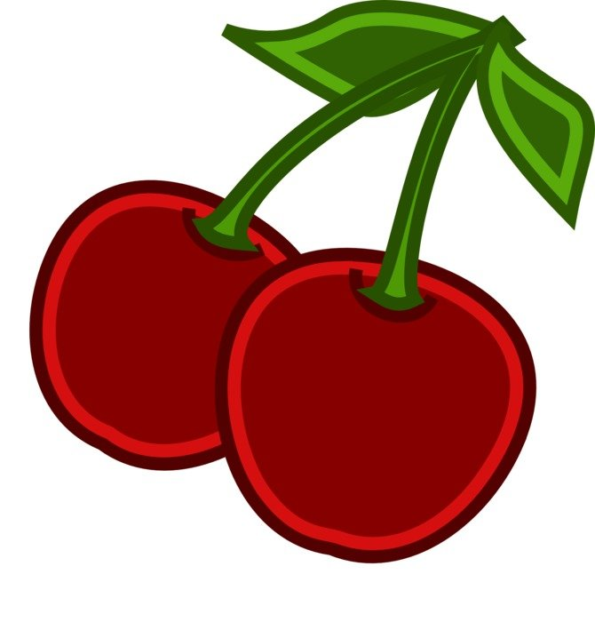 clipart,picture of sweet cherries