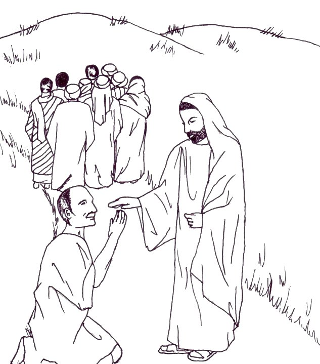 Bible Coloring Pages | Sunday school coloring pages, Jesus ... | 719x633