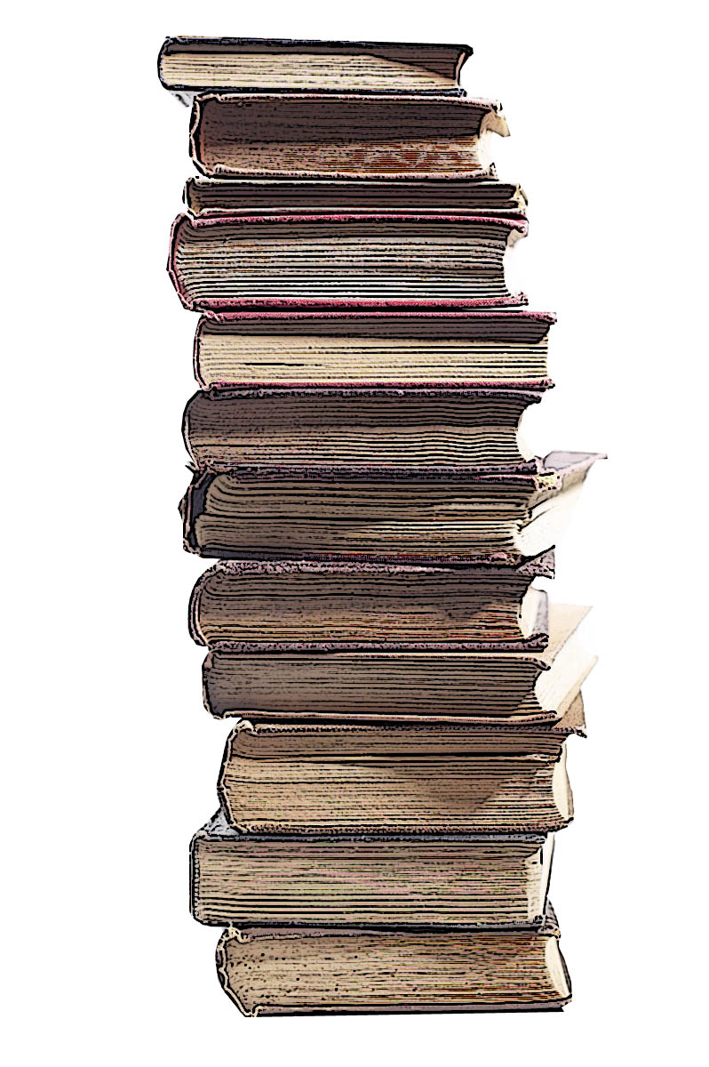 Stack Of Books Clip Art Drawing Free Image Download