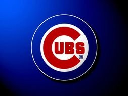 Clipart of Chicago Cubs Baseball Logo