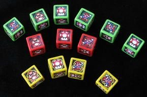 Different Colorful Mario Boxes