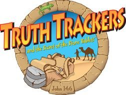 logo for truth trackers