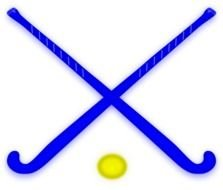 Field Hockey Stick Clip Art N9