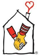 Logo of the House of Ronald McDonald clipart
