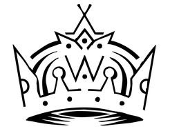 royal crown as logo