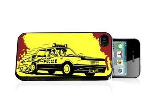 iPhone cover with police car