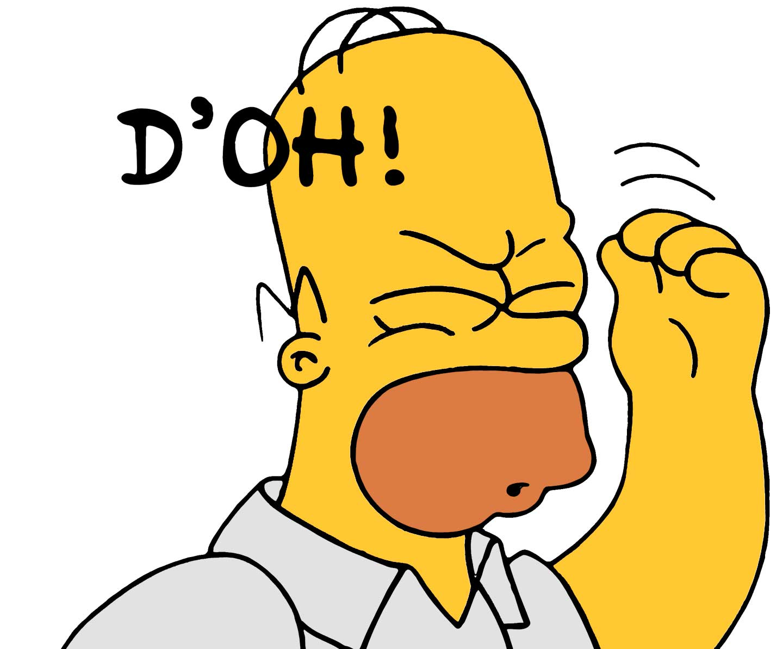 Homer Simpson Doh Sound Effect Download I15 free image