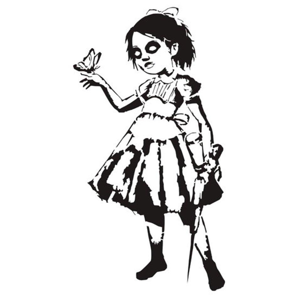 Bioshock Big Daddy Drawings N4 Free Image
