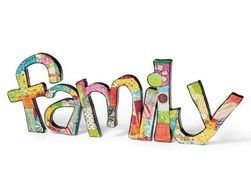 colorful word family